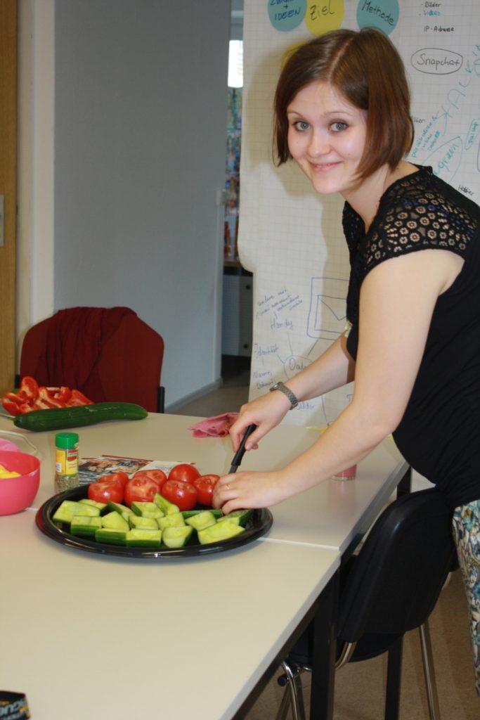 Tabea erklärt, wie gesunde Ernährung aussieht